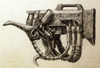 Arma blaster sonico marines ruidosos