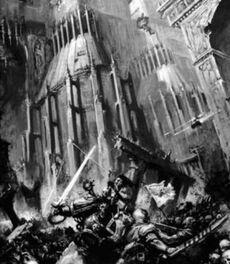Leales traidores palacio imperial caos terra batalla marines