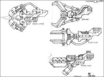 Tecnomarine brazos-herramienta
