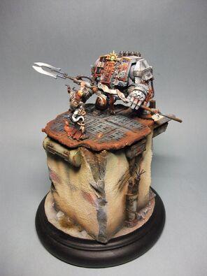 Dreadnought Caballeros Grises Golden Demon 2011 2 Warhammer 40k Wikihammer