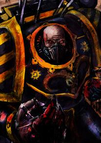 Caos guerrero de hierro