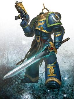 Capitán Uriel Ventris 4ª Compañía Ultramarines