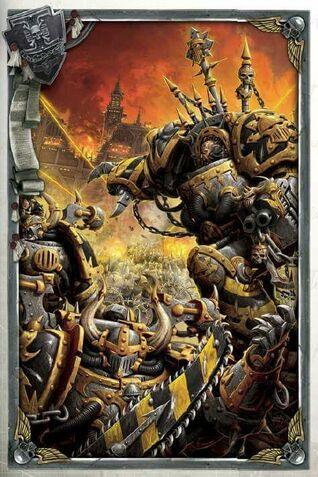 Caos guerreros de hierro honsou medrengard