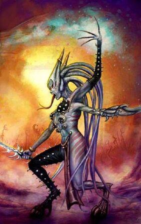 Caos zarakynel demonio slaanesh