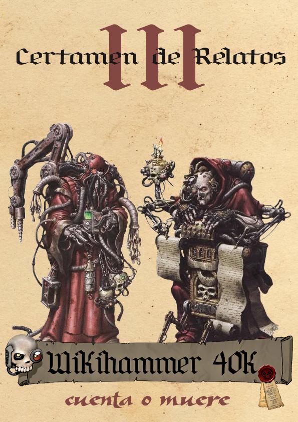 Certamen de Relatos Warhammer 40k Wikihammer
