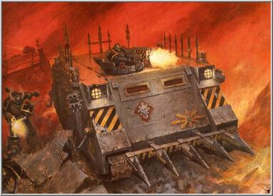 Caos rhino de los guerreros de hierro