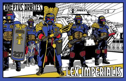 Lex Imperialis Adeptus Arbites Wikihammer