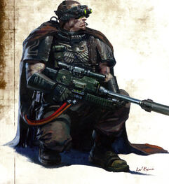 Explorador Guardia del Cuervo Francotirador