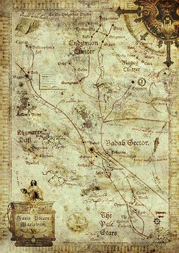 Antiguo Mapa Zona del Torbellino