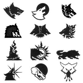 Simbolo lobos 12 Grandes Compañias