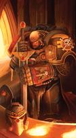 Guardián de la Muerte honrando