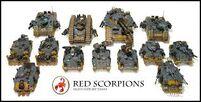 Blindados de los Escorpiones Rojos