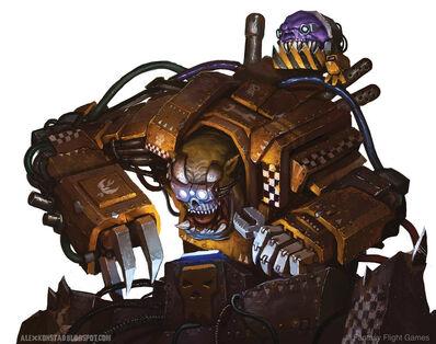 Warhammer 40k Gran Mekániko by akonstad-d5scts2.jpg