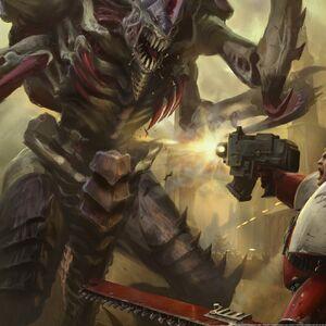 Ipad 16405 warhammer 40k space marines vs tyranids