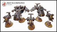 Aeronaves de los Escorpiones Rojos