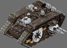 Boraneous Rex Land Raider Templarios Negros