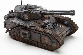 Tanque macharius con cañones vanquisher