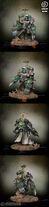 Miniatura marine de los ángeles oscuros