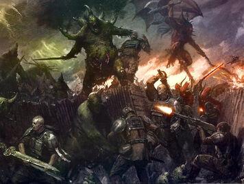 Caos nurgle demonios vs guardia imperial.jpg