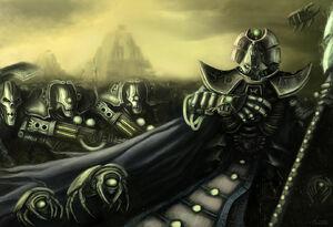 Phaeron Imotekh Lider Supremo Necron Schrodinger Wikihammer.jpg