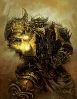 Aniquilador Bólter Pesado Legión Negra