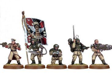Escuadra de mando Cadia