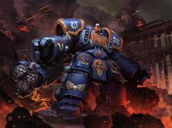 Space marine assault centurion by reza ilyasa-dab4fv8