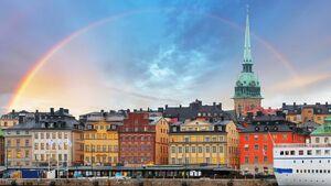Stockholm rainbow