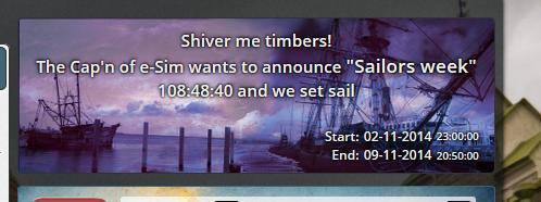 Sailors week