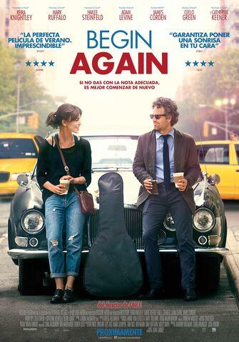 Archivo:Begin Again.jpg