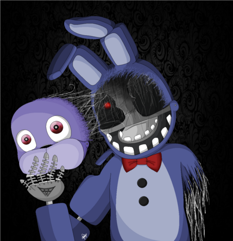 Archivo:Bonnie five nights at freddy s 2 by hope n tears-d86cfz8.png