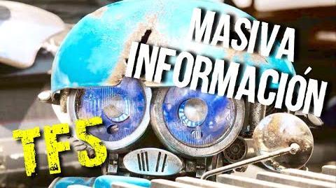 Masiva Información de TRANSFORMERS 5 Revelada Avances TF5 Parte 4