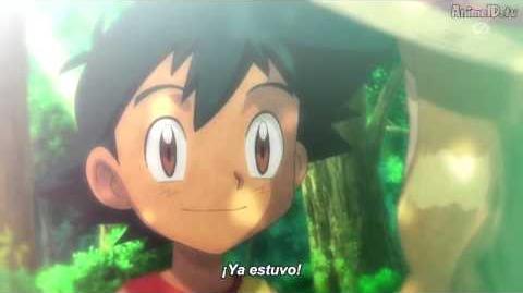 Recuerdo de Ash y Serena cuando eran niños.