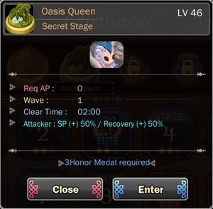 Oasis Queen 10