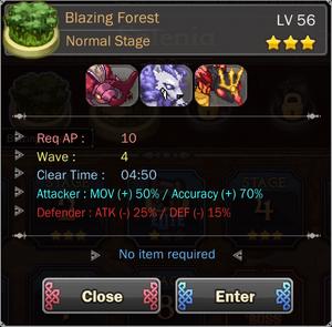 Blazing Forest 4
