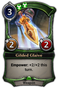 Gilded Glaive