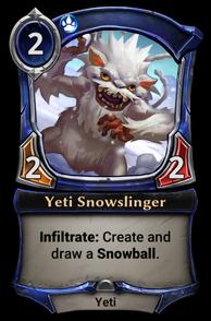 Yeti Snowslinger