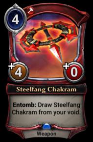 Steelfang Chakram