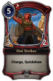 Oni Striker