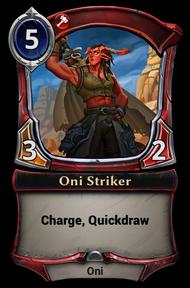 Oni Striker