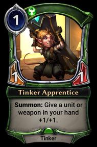 Tinker Apprentice