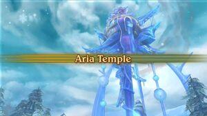 Aria Temple Intro Screen