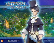 Eternal Sonata Promotional Wallpaper - Frederic (Xbox 360)