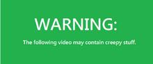 Eric.avi warning screen