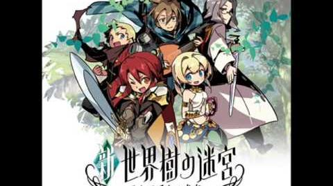Etrian Odyssey Untold TMG - Labyrinth III - The Milennial Azure Woodlands