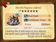 Stratum 6. Hermit Sugata-zukuri