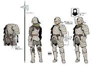 Soldier concept art
