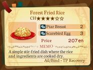 Stratum 4. Forest Fried Rice