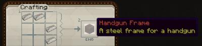 Handgun frame