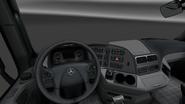 Mercedes-Benz Actros interior